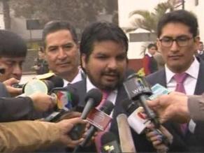 Arbizu lamenta que se dilate juicio a Fujimori por diarios chicha