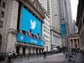 Las acciones de Twitter comienzan a cotizarse a 45,10 dólares