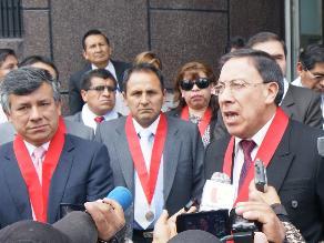 Huancayo: Magistrados protestan exigiendo homologación de sueldos