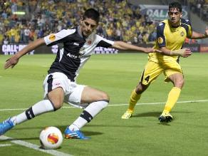 Frankfurt cayó 4-2 ante Maccabi Tel Aviv con Zambrano en la Europa League
