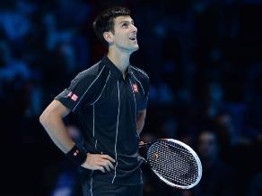 Djokovic superó a Del Potro y está en semifinales del Masters de Londres