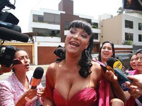 Mariella Zanetti pide que no la vinculen con exnovio detenido
