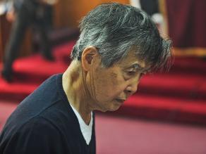 Corte Suprema da trámite a apelación de Fujimori sobre arresto domiciliario