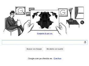Google rinde homenaje a psicoanalista Hermann Rorschach