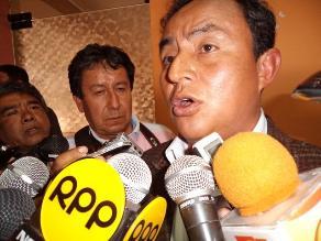 Cajamarca: Santos no trataría tema Conga con primer ministro