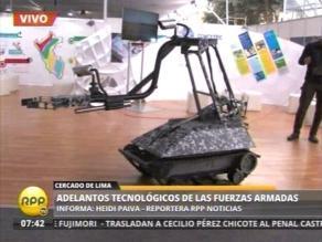 Adelantos tecnológicos pueden verse en feria Perú con Ciencia