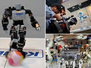 Lo último de la robótica en la Feria Internacional del Robot en Japón