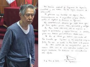 Fujimori dice que incomunicación abusiva que sufre ya afecta a su salud