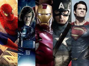 Los diez superhéroes más exitosos del cine