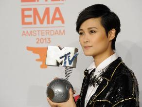 China Chris Lee derrotó a Justin Bieber y One Direction en los MTV EMA