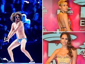 Así lucieron los invitados de los MTV Awards 2013