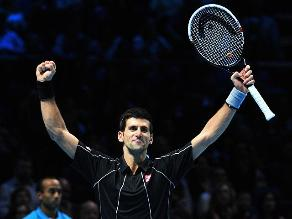 Novak Djokovic derrotó a Nadal y revalidó título de la Copa Maestros