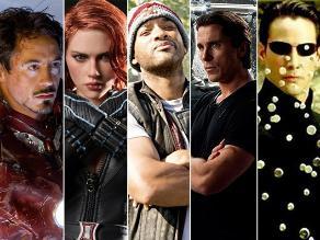 Los diez actores mejor pagados por interpretar a un superhéroe