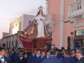 Arequipa: imagen de virgen de Chapi culminó peregrinación en templos