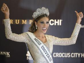 Un polémico tuit de la Miss Universo alude a Hugo Chávez