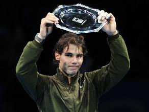 Rafael Nadal cierra el 2013 en el primer lugar del ranking ATP