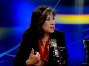 Martha Chávez: Estoy a favor de los DDHH de todos los peruanos