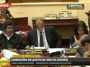 Debaten sobre desactivación del grupo de DDHH que coordina Martha Chávez