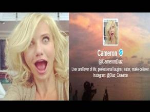 Cameron Díaz se estrena en Twitter