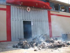 Más de 500 expedientes se perdieron tras quema de juzgado de Pucalá
