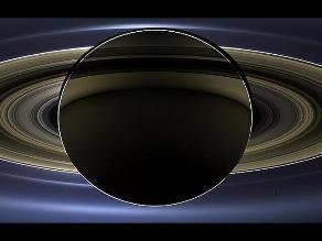 La Tierra desde Saturno: Como la vería el ojo humano