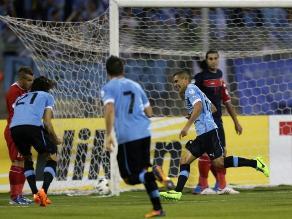 Mira los cinco goles de Uruguay sobre Jordania en repechaje mundialista