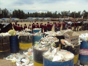 Huancayo: Alumnos de Santa Isabel estudian en condiciones deplorables
