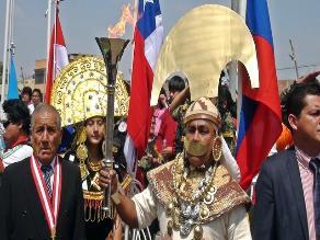 Chiclayo: Señor de Sipán dio bienvenida a atletas que portaban antorcha