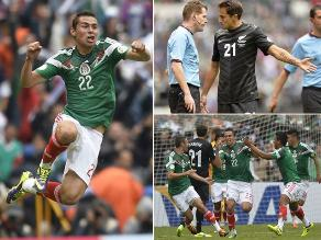 Revive la goleada de México a Nueva Zelanda en repechaje a Brasil 2014