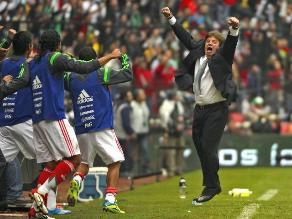 Miguel Herrera pide no festejar hasta no tener el pase a Brasil 2014