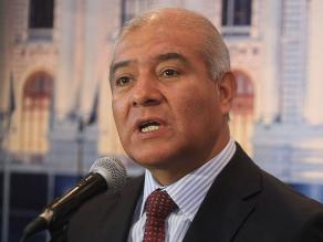 Pedraza se presenta este jueves ante el Pleno del Congreso