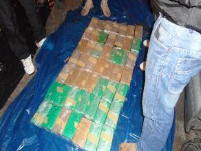Puno: Decomisan más de 47 kilos de alcaloide de cocaína