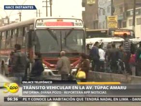 Tránsito normal pese a paro convocado contra reforma del transporte