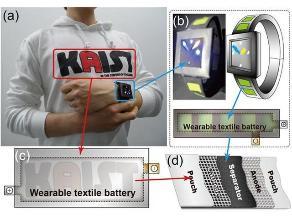 Científicos convierten prendas de vestir en baterías recargables