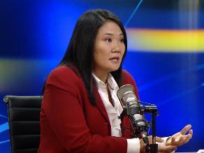 Keiko Fujimori: No hay que tener miedo a revisar trabajo de la CVR