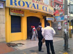Tacna: Roban joyas en puestos de galería comercial