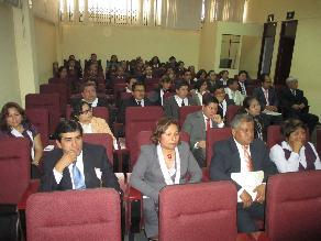 Chimbote: Jueces y fiscales exigen homologación de sueldos