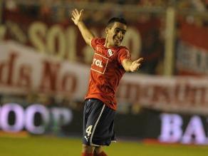 Independiente se niega a dejar de luchar por ascender con este golazo