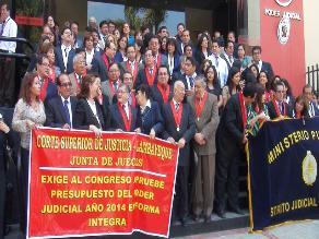 Lambayeque: Jueces en paro aseguran programar horas extras