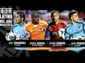 Raúl Fernández cerca de ganar premio al Latino del Año 2013 de la MLS