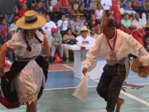 Concurso Nacional de Baile para Adultos Mayores en Lima en tercera edición