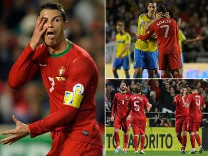 Revive las postales del duelo entre Cristiano Ronaldo e Ibrahimovic