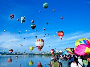 El Festival del Globo más importante de Latinoamérica se celebra en Méxicio