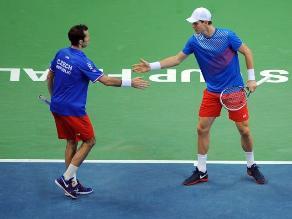 Copa Davis: República Checa triunfa en dobles y pasa a ganar 2-1 a Serbia