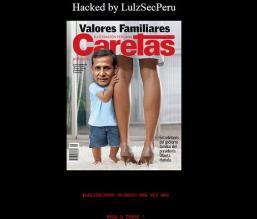 Anonymous Perú hackeó portal de la Presidencia de la República