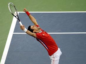 Novak Djokovic vence a Tomas Berdych e iguala la serie de la Copa Davis