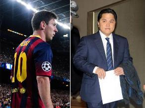 Nuevo presidente del Inter de Milán no descarta fichar a Lionel Messi