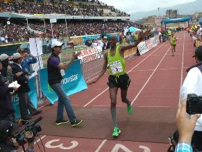 Huancayo: Etíope gana la ´Maratón Internacional de los Andes´