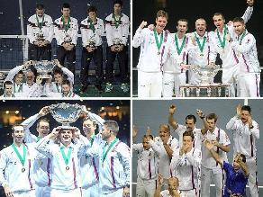 Así festejó Tomas Berdych el título de Copa Davis de República Checa