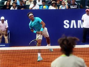 Rafael Nadal superó a David Ferrer en partido de exhibición en Lima